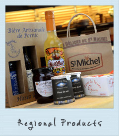 Regional products from Loire Atlantique